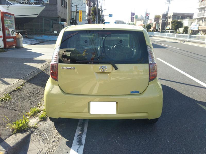 トヨタパッソ1.3Gの車両写真 その9