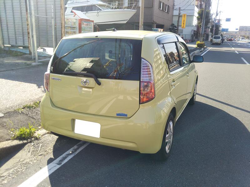 トヨタパッソ1.3Gの車両写真 その8