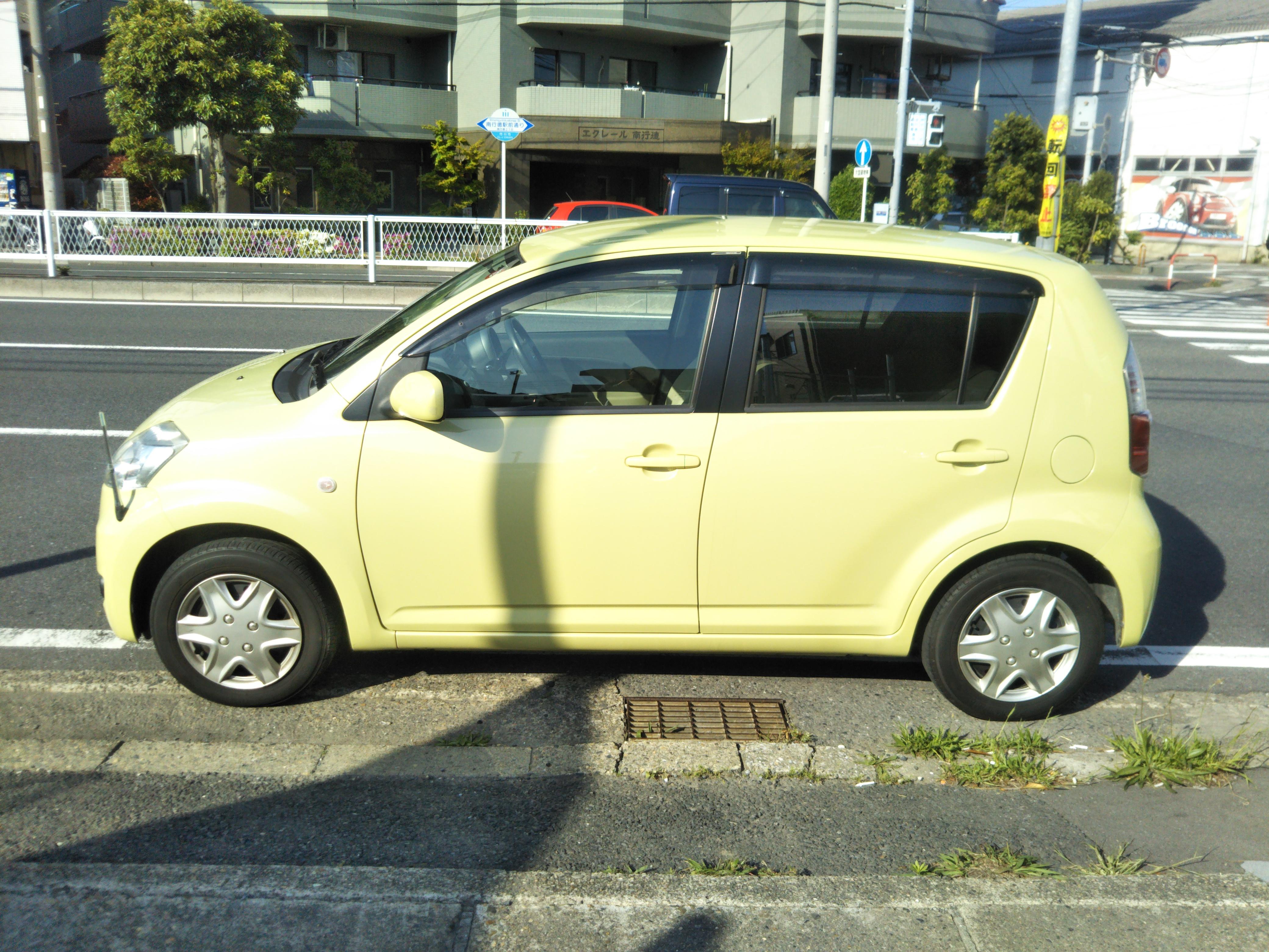 トヨタパッソ1.3Gの車両写真 その7