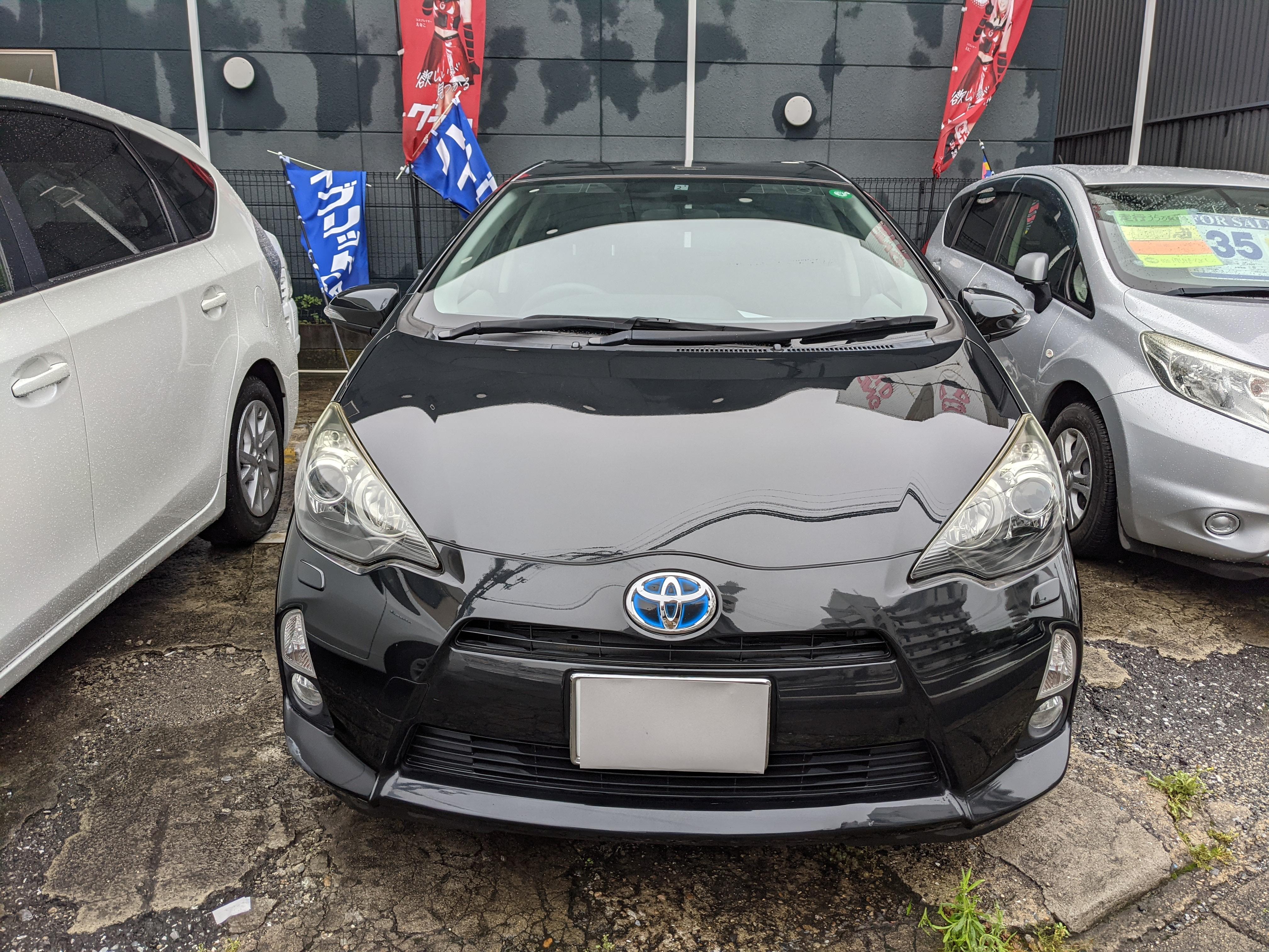 トヨタアクア5ドアS スマートエントリーPKGの車両写真 その3